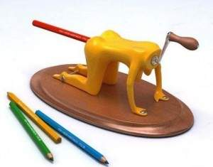 Taille crayon insolite