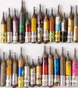 Les mines des crayons