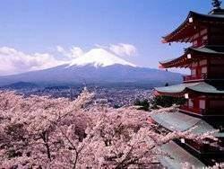 fuji - Les volcans en Asie: Fuji Japon