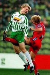 Photos bizarres de footballeurs
