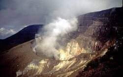java - Les volcans en Asie: Indonésie