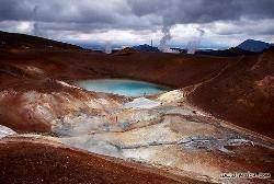 krafla - Les volcans en Europe: Islande
