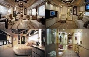 Maison en bus