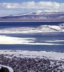 mono lake - Les volcans en Amériques:  Mono Lake, Etats-Unis