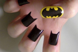 ongle1 - Batman nail
