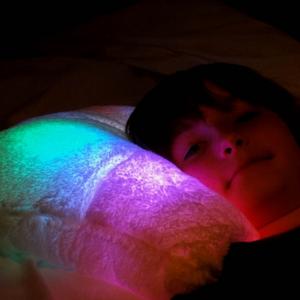 Un oreiller éclairé