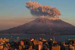 sakurajima - Les volcans : Le Sakura-jima
