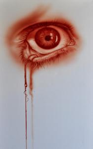Pienture avec le sang