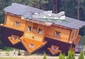 Maison renversante