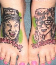 Tatouage bizarre