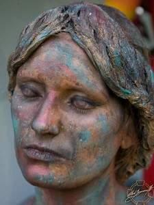 visage Peinturé3 225x300 - Peinture sur le visage