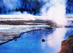 yellowstone - Les volcans en Amériques:  Etats-Unis