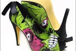 zombi - Des escarpins originaux