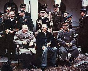 la conférence de yalta - la nouvelle organisation mondiale