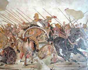 alexandre grand 5 300x241 - l'évolution de la guerre: La stratégie