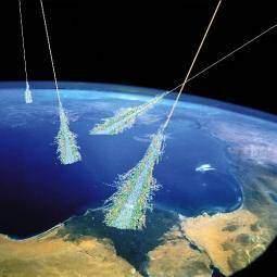terre neutrinos - La Terre frappée par des rayons gamma dans l'année 775