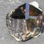 Cassitérite 150x150 - Bénitoïte, Cassitérite, Dioptase