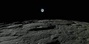 Un véritable champ de bataille lunaire
