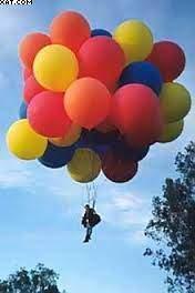 L'hélium. - Dégonflé à l'hélium