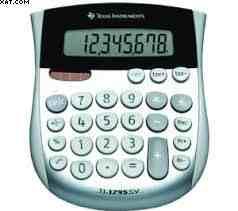 les rangées de chiffres sur les calculatrices. - Science domestique : Cadrans arbitraires