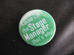 Stage manager1 - Stage manager