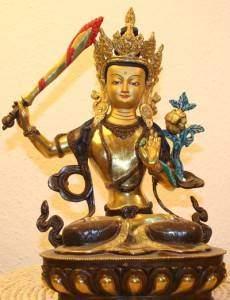 Medbud BuddhaManjushri 230x300 - Manjushri