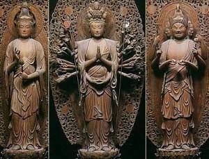 six kannon sho senju bato daihouonji TN 300x229 - Les trente - trois formes de Shô Kannon
