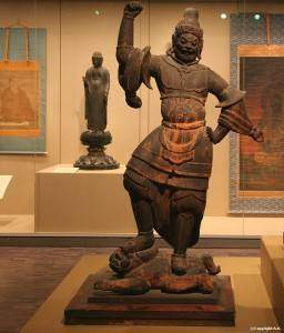 virudhaka 256x300 - Les rois - gardiens : Virudhaka