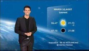 la meteo a la television 300x173 - La météo à la télévision