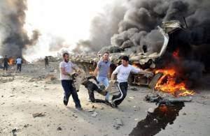 SYRIA-POLITICS-UNREST-BLAST