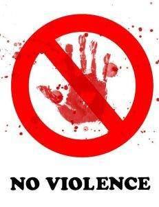 no violence 231x300 - Violence