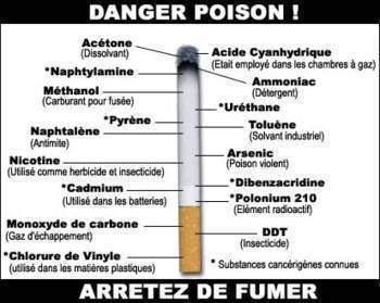 Effets de la cigarette sur la sante - Effets de la cigarette sur la santé