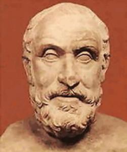 PyrrhonDElis 251x300 - Vérité et connaissance : Nous devons demeurer sans opinion , sans inclination , sans agitation